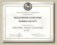 Historic Texas Cemetery 2009